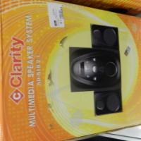 Clarity Multimedia Speaker System