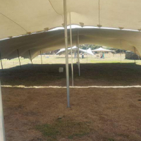 Second hand stretch tent for sale