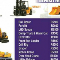 Front end loader 777 dump truck excavator course mining training rustenburg call 0733146833