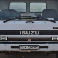 1994 ISUZU F8000 DIESEL 8-TON FLAT DECK TRUCK on auction this saturday 25th March at 10h00