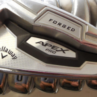 Callaway Apex Pro Forged 16 3-PW Iron Set XP95 S300 Stiff flex Steel Irons
