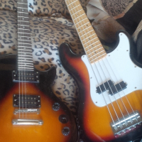2 Guitars For swop with Keyboard