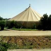 Pole & Peg tent 15x25m
