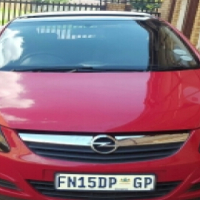 2008 Red Opel Corsa 1.4 for sale - R68k Neg.