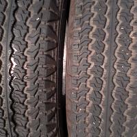 215R15 X3 Good year tyres