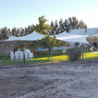 White stretch Tent 20x15 for sale(very good second hand)