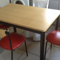 Retros 50s dining room chairs. R500 each