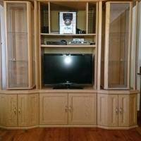 TV wall unit.