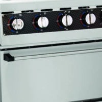 GAS STOVE WITH GAS OVEN ANVIL - 4 BURNER