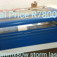 1390x80w storm laser cutting and engraving machines