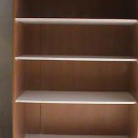 Cherry wood 4 tier book shelf