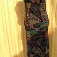 Africa evening dress