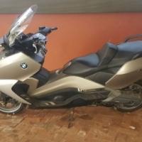 BMW C 650 Motorbike/