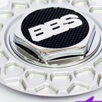 Replacement Cap for Lenso BBS (silver)