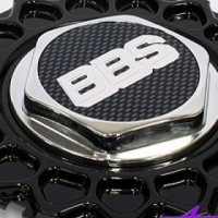 Replacement Cap for Lenso BBS (black)