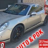 Porsche Carrera 4S Coupe Auto PDK 2013 model 36000km sports exhaust, PDK, navigation, bluetooth, all