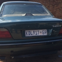 BMW 740 i...Donor car for your street/rat rod project