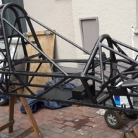 Race Car Spaceframe Chassis - Single Seater / Opel Wheel racing car
