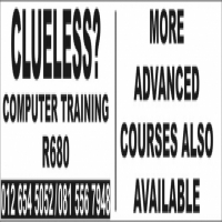 Computer Training for absolute beginners and also more advanced users
