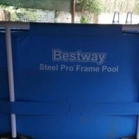 BestWay Steel Frame Pool Set.