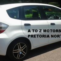 2009 Honda Jazz 1.4 i LX Hatchback with the following km's: 150547