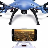 Camera drone that send image to your mobile phone (F.P.V., WiFi with auto altitude hold)