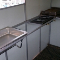 Food trailer and cold rooms hire