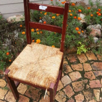 Wooden riempie chair for sale