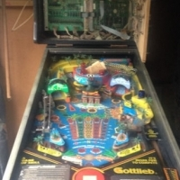 Gottlieb SURF 'N SAFARI Pinball Machine - Only 2006 ever made.