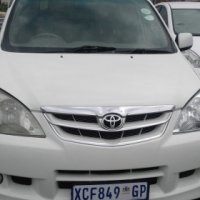 Toyota Avanza 1.5TX VV.I  Model 2011 5 Door Colour Whie Factory A/C & CD Player