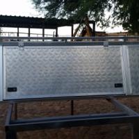Heavy Duty Aluminium Canopy,lockable utillity boxes,LED light strips