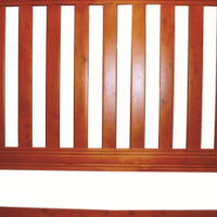 Slatted headboard - new