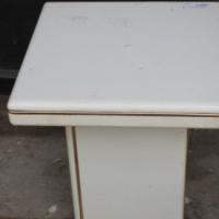 Cream White Side table S021708C #Rosettenvillepawnshop