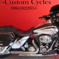 2013 Street Glide Harley Davidson Hells Release Paint Job No 13 of 200!
