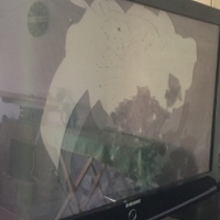 Plasma Tv's with cracked screens