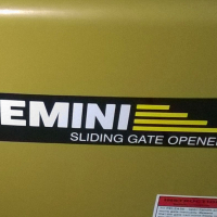 Gemini 7ah Gate motor
