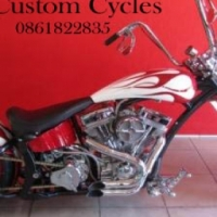 Custom Springer Chopper  Price Has Been Drastically Reduced by R45 000.00!