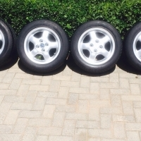 "14"" Vw mags and tyres for sale R3000"