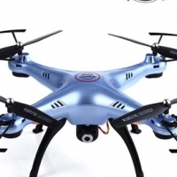 Quadcopter camera drone that sends real time video direct to your mobile phone