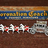 Antique Miniature Coronation Coach