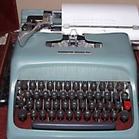 Portable Olivetti Typewriter