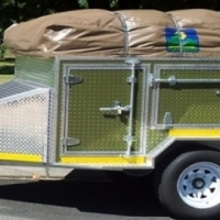 4x4 Aluminium Off road Trailer, just add gas bottle and fridge. R88 000. o.n.o.
