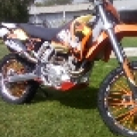 KTM 400EXC R with papers and registering papers