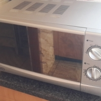 Defy 20l silver microwave R450.00 NOT NEG 0826924086