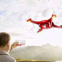 Quadcopter drone - controlled by your mobile phone