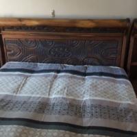 5 piece solid wood bedroom suite in excellent condition. R3700