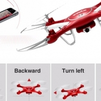 Drone with camera  that is controlled by your mobile smart phone