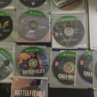 XBOX games ( No Casing ) Only the original Disc With Code.