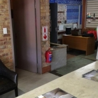 Manufacturing, Show room, Spray booth, trading offices, reception area