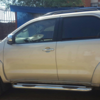 2014 Toyota Fortuner 4x4 for sale